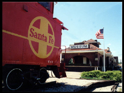 Fort Madison, Iowa, a train-lover's town!